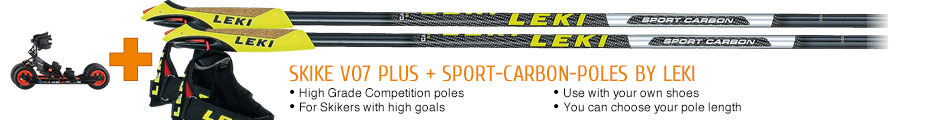 High Grade Competition poles, for Skaters with high goals, use with your own shoes, you can choose your pole length